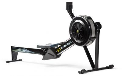Endurance Training Machine - Black Concept 2 Model D Rower With PM5 Monitor