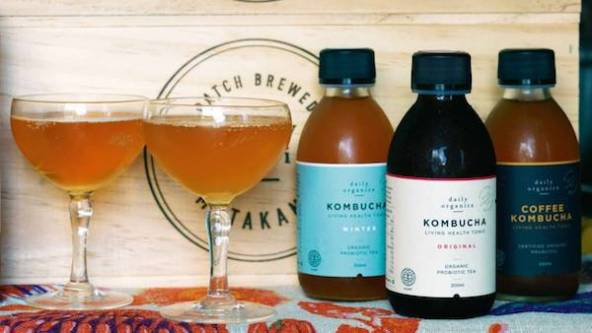 The alcohol content of Kombucha