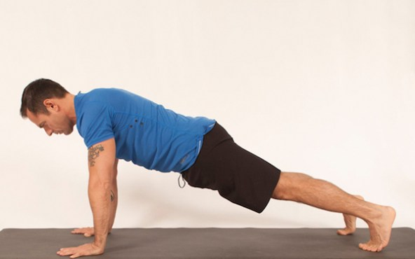 How to do a high plank