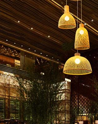 Bamboo Hearts Home Decor Lights