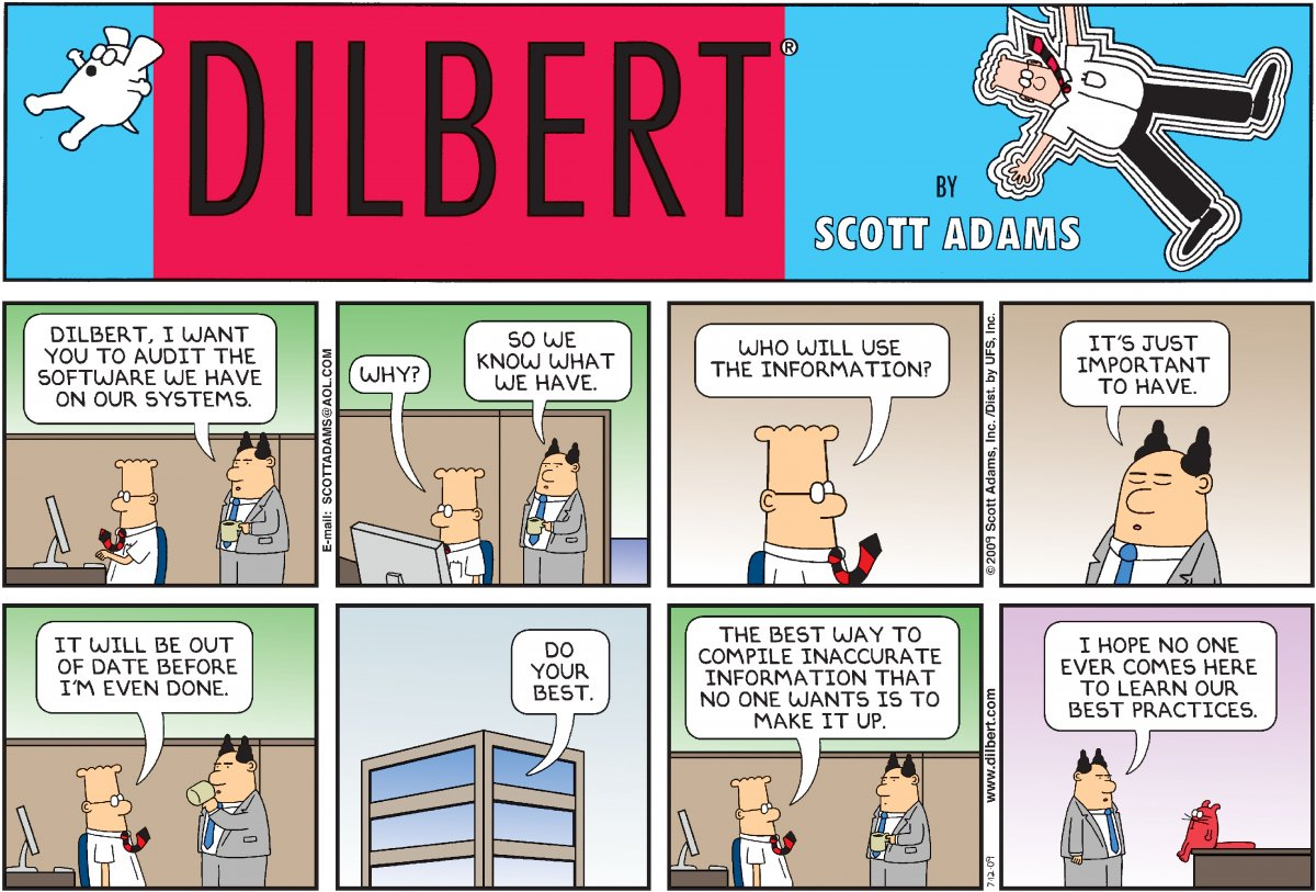 The 10 Best Pointy Haired Boss Moments From Dilbert