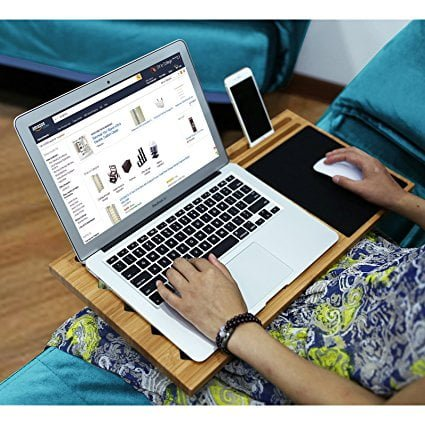Features of Bamboo Laptop Lap Desk