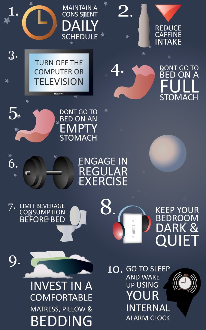 10 Tips To Help You Sleep Better At Night