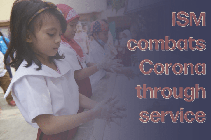 ISM combats Corona through service - Caleb Lim