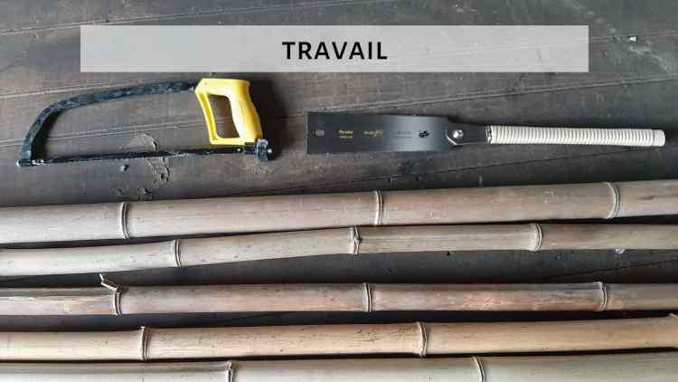 TRAVAIL BAMBOU