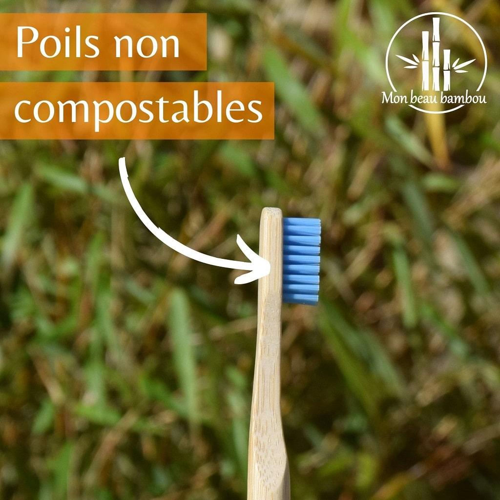 Brosse à dents en bambou poils compostables ou pas ?