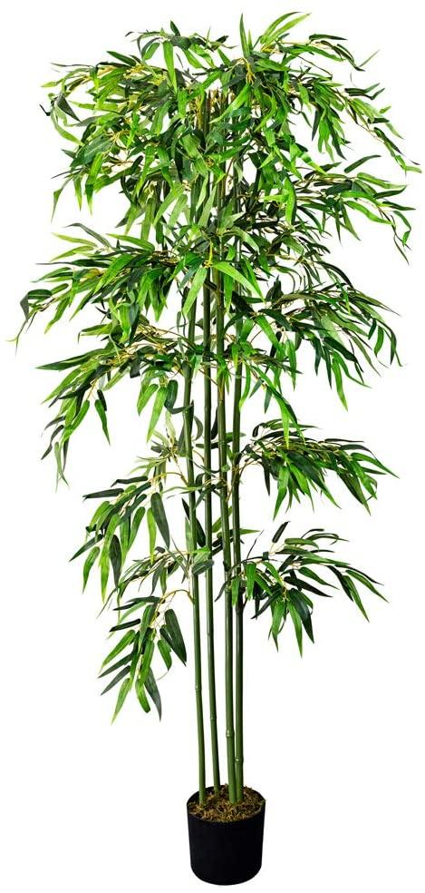 Bambou artificiel pour balcon