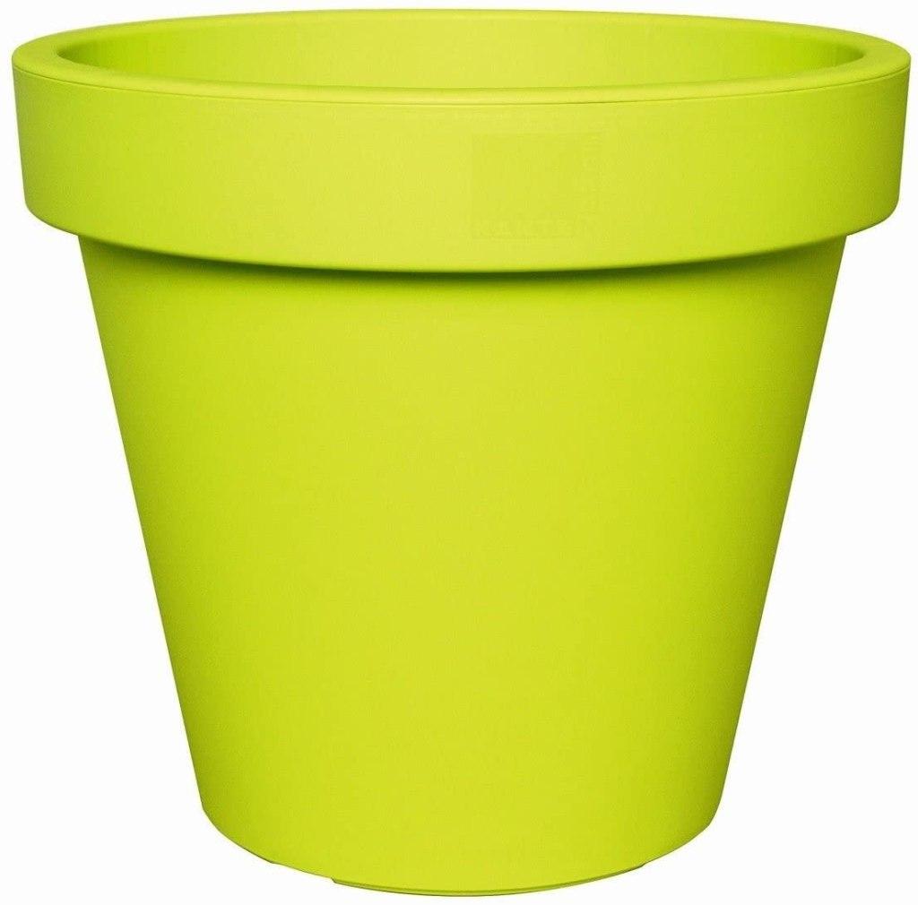 Pot pour bambou artificiel en extérieur