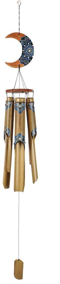 Carillon en bambou avec lune