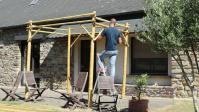 Comment Fabriquer une Pergola en Bambou ? Tuto en 16 Etapes