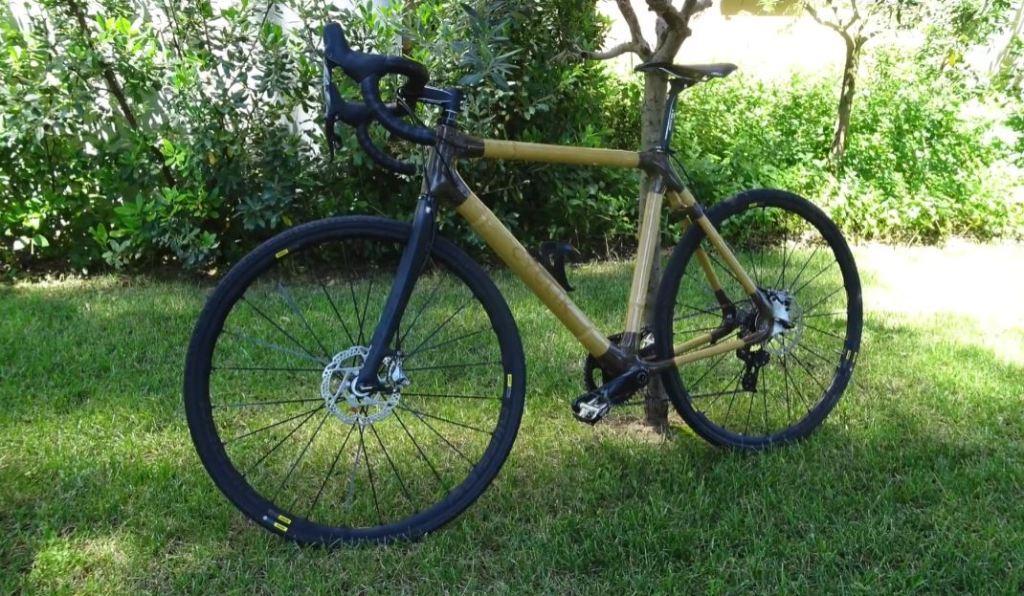 Velo en bambou Cyclik