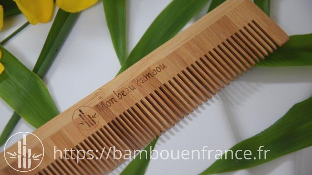 Peigne en bambou Mon Beau Bambou