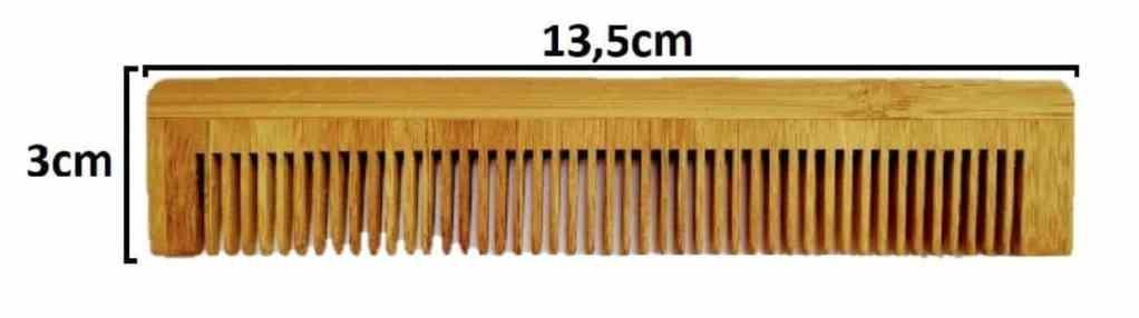 Peigne en bambou classique