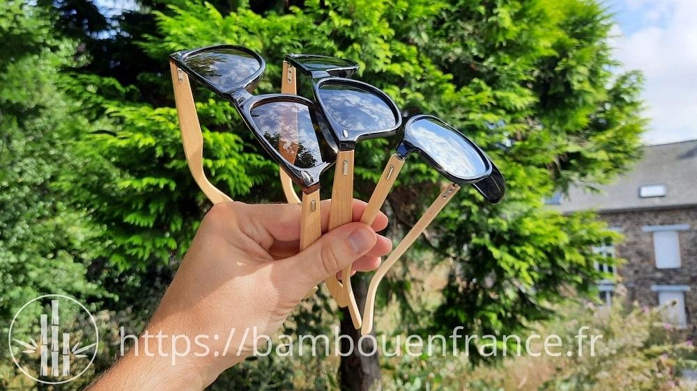 Lunettes en bambou