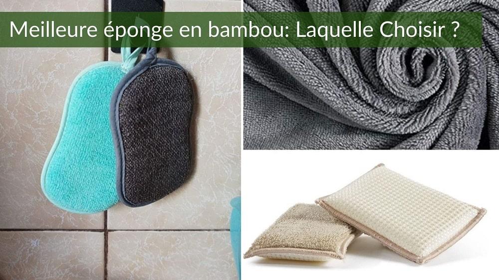 éponge bambou