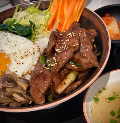 Korean Beef Bulgogi Bibimbap - Bambudha by David & Anne