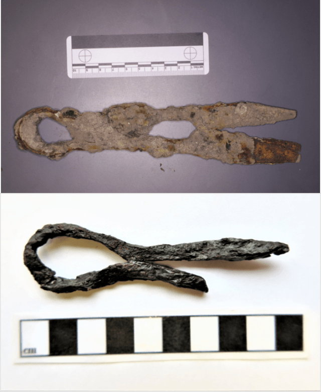 Bamburgh Sword : bamburgh, sword, Medieval, Anglo-Saxon, Metalworking, Bamburgh, Castle:, Results, Trench, Assessment, Conservation, Research, Project's