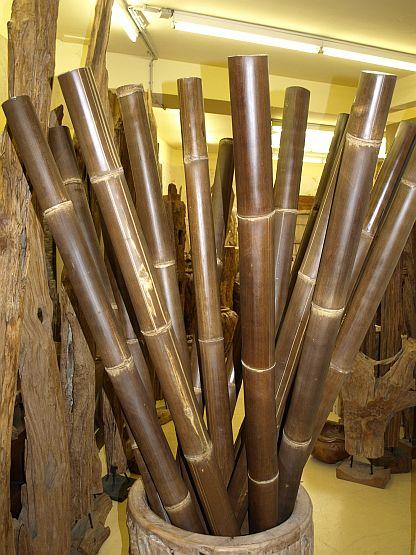 Wir fhren Bambusstangen Teakholz Mbel  Deko zu fairen