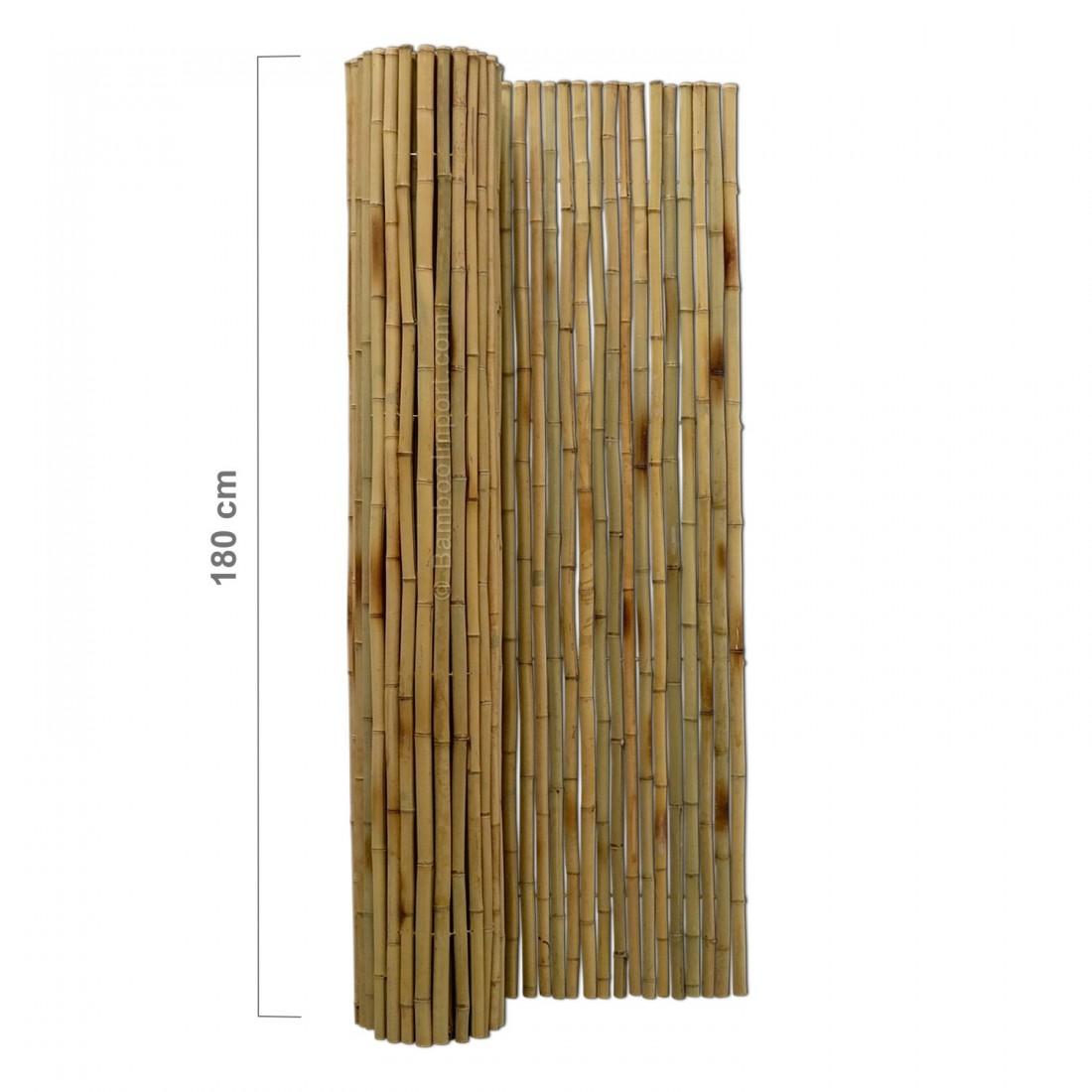 Bambus Hegn Rulle 180 X 180 Cm Bambus Produkter
