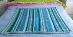granny stripe spread out