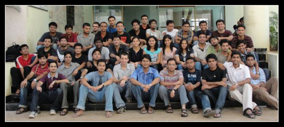 EE dual degree batch, IIT Bombay, 2010.