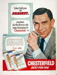 So Jack Vincennes smoked the same type of cigarettes as TV detective Jack Webb? What a coincidence.