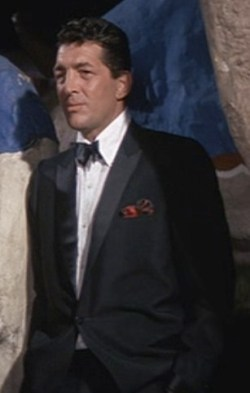 Dean Martin as Sam Harmon in the original 1960 Ocean's Eleven.