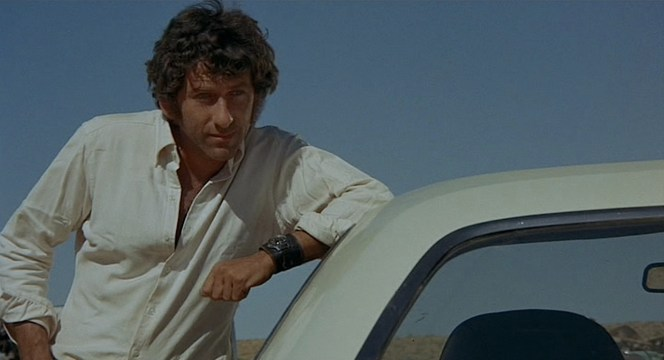 Barry Newman as Kowalski in Vanishing Point