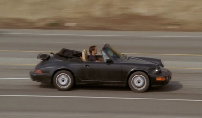 Hank zips along the PCH in the pilot episode.