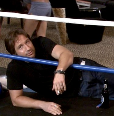 David Duchovny as Hank Moody in the tenth episode of Californication,
