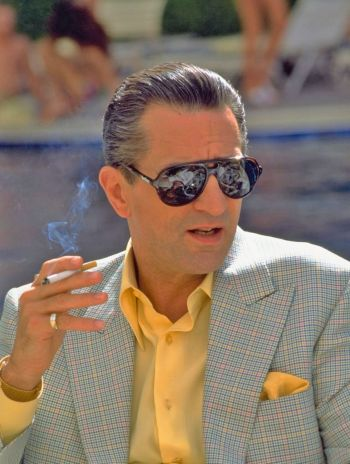 "Robert De Niro as ""Ace"" Rothstein in Casino."