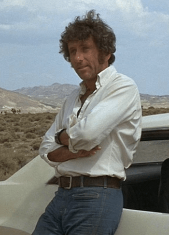 Barry Newman as Kowalski in Vanishing Point.