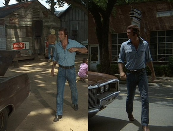 Burt is pretty much attached at the hip to his car in this one. And every other movie he's made.