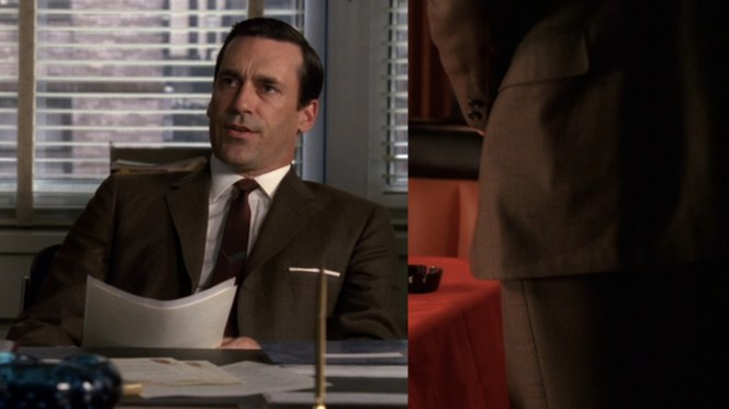 "Evidently, the traditional rule of ""No brown in town"" doesn't mean anything to Don Draper."