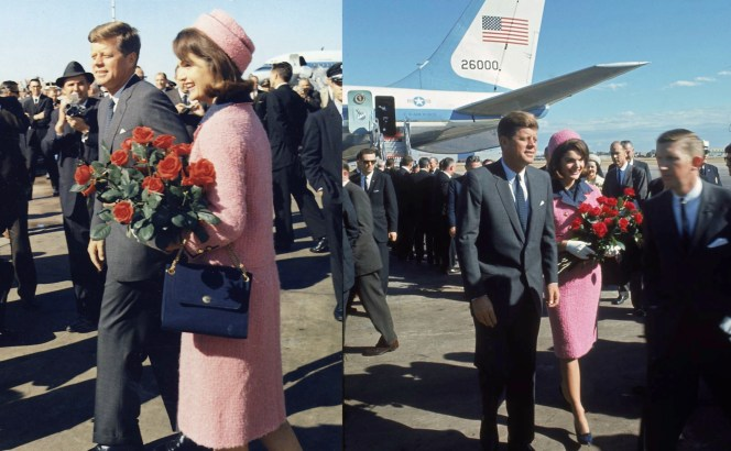 The President and Mrs. Kennedy in Dallas, November 22, 1963.