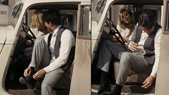 Luckily for Faye Dunaway, Warren Beatty wasn't known for his bad foot odor.
