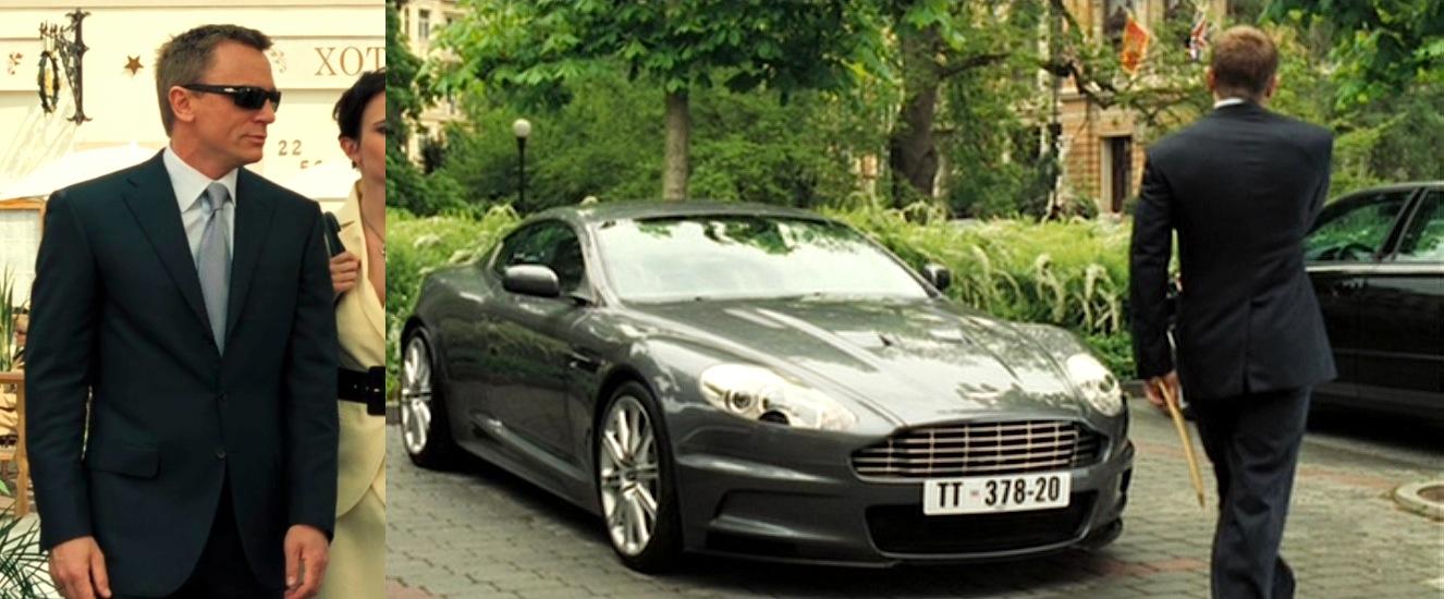 Casino Royale Bond S Dark Blue Suit And New Aston Martin Bamf Style