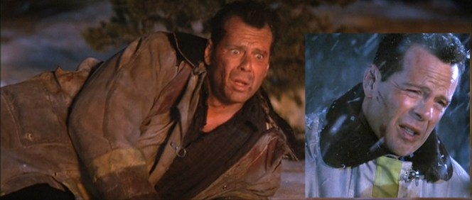 McClane could arguably take better care of his jackets, especially when they don't even belong to him.