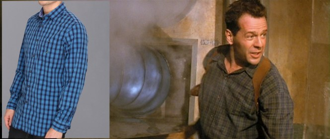 I like the shirt, but evidently McClane finds it so abhorrent he has to look away :(