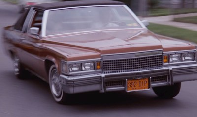 For movie/trivia buffs, Henry's New York license plates are #392-DIP.