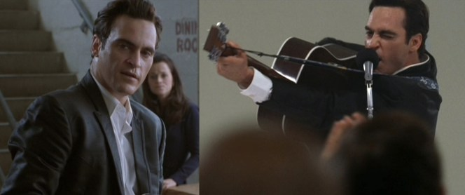 Joaquin Phoenix, making Johnny proud with his Oscar-nominated performance in 2005's Walk the Line.