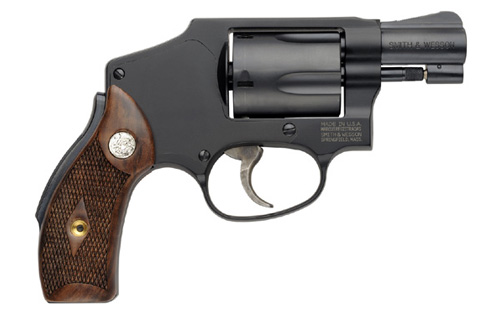 A Smith & Wesson Model 42, a modern version of the Centennial Airweight that Bond was issued in Dr. No.