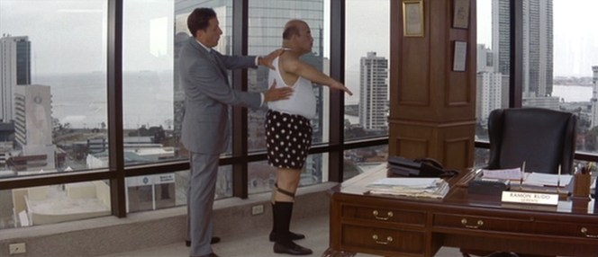Also starring Jon Polito as, once again, a stubborn fat guy.