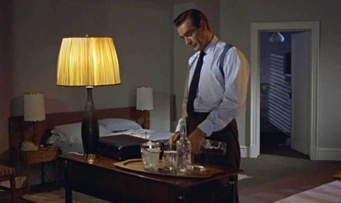 A real man keeps two bottles of vodka in his hotel room, because you just never know when one will be poisoned.