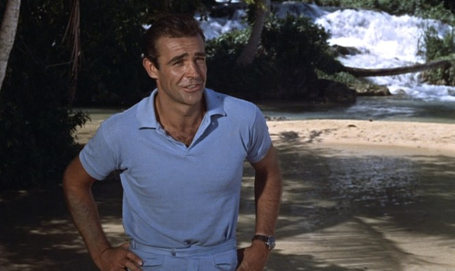 Bond doesn't seem to care that he and two other people are in mortal danger simply by existing on this island.