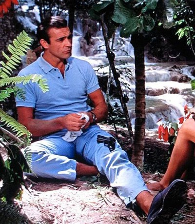 Sean Connery as James Bond in Dr. No (1962).