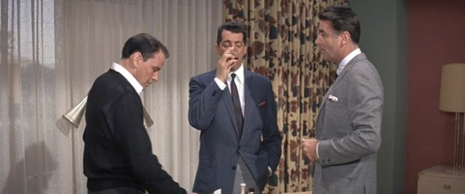 If you're going to drink, drink with friends. Especially if those friends are fellow Rat Pack members.