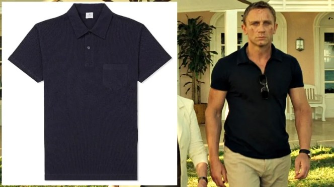 Just a fair warning - there is about a 99% chance that this shirt won't make you look like Daniel Craig. If you have the same workout regimen as Orson Welles, there's really no help that a nice polo can provide.