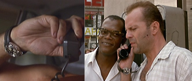 Samuel L. Jackson always answers the phone with a smile :-D