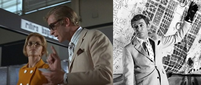 Wearing a wristwatch over your shirt cuff might save you time (pun grossly intended), but it's typically a sartorial no-no. Michael Caine, considered to be one of the most fashionable men of the '60s, gets a free pass here.